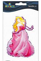 """Кулька повітр. фольгована """"Принцеса Аврора"""" 84см №836106/Pelican/(1)"""
