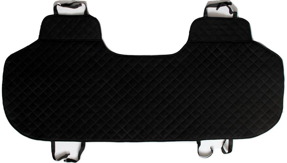Накидки чехлы на сидения автомобиля из Алькантары Эко-замша задние универсальные защитные авточехлы Черные - фото 7