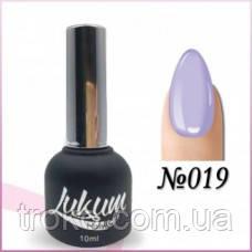 Гель-лак Lukum Nails № 019 10 мл