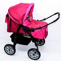 Коляска для детей Viki 86- C 40 малиновый SKL11-220071