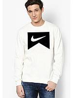 Свитшот мужской белый Nike Найк