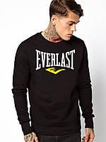 Свитшот мужской черный Everlast Еверласт