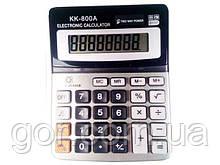 """Калькулятор """"KK 800A(8 розрядний 2питания) (1 шт)"""