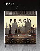 """Сумка з пластиковою ручкою """"Прага"""" без ручки (10 шт)"""