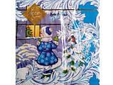 Новогодняя салфетка (ЗЗхЗЗ, 20шт) LuxyНГНовогодний визит        (504) (1 пач), фото 5