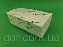 Рушник паперовий v-складка біле(160листов) Каховинка (1 пач.)