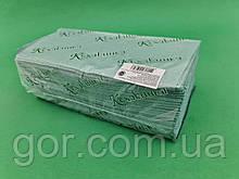 Паперове листові рушник v-складання зелене(170листов) Каховинка (1 пач.)