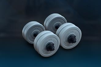 Гантели наборные по 6 кг серии Gray