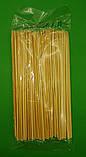 Паличка для шашлику бамбукові (200шт) 15см 2.5 mm (1 пач.), фото 2