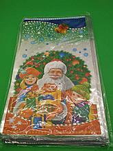 Фольгований пакет Н.Г (20*35) №31 Дід Мороз і діти (100 шт)