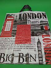 """Пакет з петлевий ручкою (38*44) """"Лондон"""" (25 шт)"""