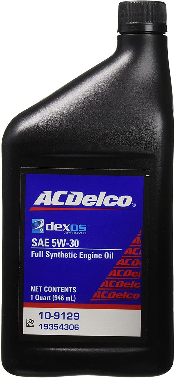 Синтетичне моторне масло ACDelco Dexos2 Full Synthetic 5W-30 0.946 л