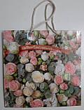 Пакет бумажный подарочный квадратный ы 23*24*10(артKV-076) (12 шт), фото 4