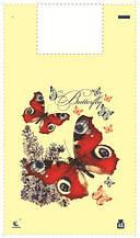 "Пакет майка поліетиленова 34*58 Метелик (5ветов)""Комсерв"" (100 шт)"