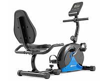 Горизонтальный велотренажер Hop-Sport HS-030L Rapid синий, фото 2