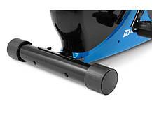 Горизонтальный велотренажер Hop-Sport HS-030L Rapid синий, фото 3