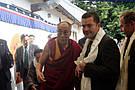 Визит Его Святейшества Далай Ламы ХIV на предприятие PADMA AG