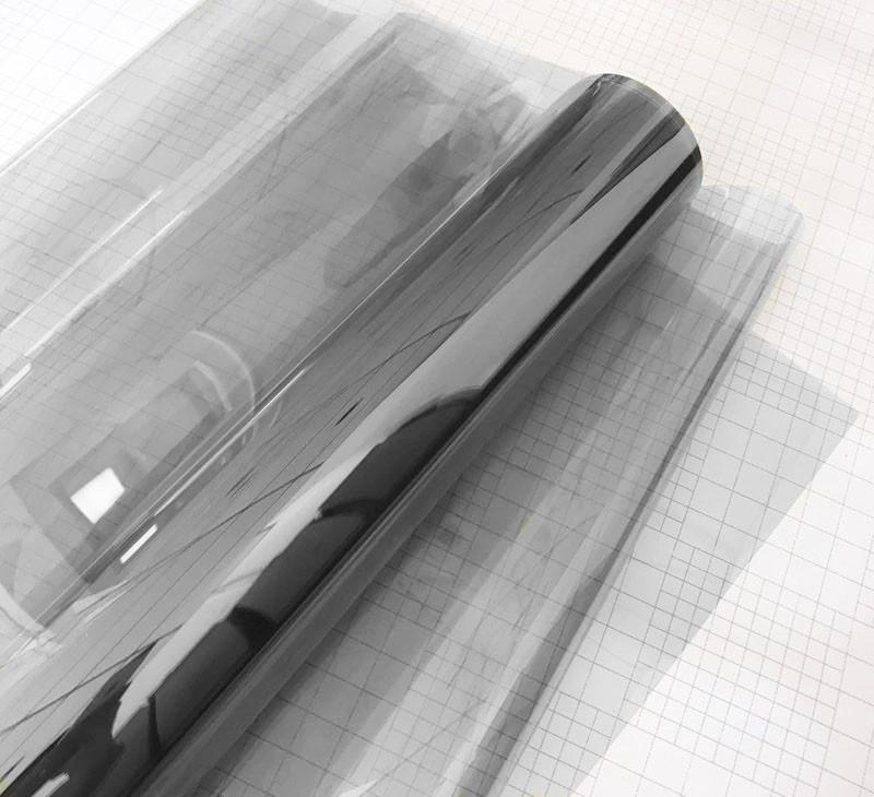 Авто пленка CARLIKE прозрачность 70% светло серая 30 x 152см солцезащитная тонировочная (AVp-013-30)