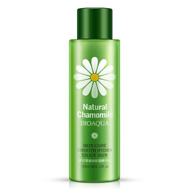 Увлажняющее молочко для лица с экстрактом ромашки Bioaqua Natural Chamomile, 120мл