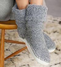Домашні шкарпетки-тапочки
