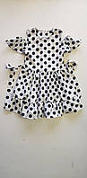 Нарядное платье красивое, детское Джудит   размер 32, 34, 36 в горох  ,   купить