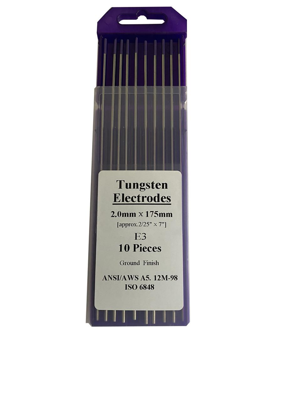 Вольфрамовый электрод E 3 , 1.6 мм - 175мм