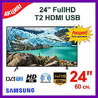 Телевизор 24 Samsung, T2 HDMI, Full HD, LЕD. Телевизор Самсунг.