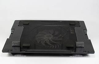 Столик для ноутбука ERGO STAND розкладна підставка-охолоджувач з куллером