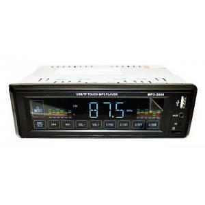 Автомагнітола головний пристрій автомобільна магнітола FM/USB/SD/MP3/AUX MP3 3899 з сенсорним дисплеєм 1DIN