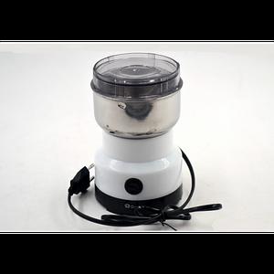 Кофемолка электрическая кухонная с ножами из нержавающей стали Domotec Original MS-1106 70г 150 Вт
