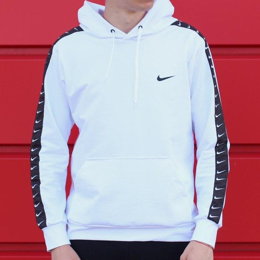 Мужская кофта - Худи Nike белая (top replic)