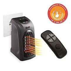 Тепловентилятор обігрівач для будинку Rovus Handy Heater II PRO 400 Вт міні електрообігрівач з пультом