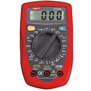Мультиметр цифровий тестер вольтметр UNIT UT33B Digital Multimeter