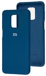 Чохол Оригінал Silicone Case Xiaomi Redmi Note 9s/9 Pro (Синій)