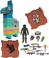 Колекційна фігурка Jazwares Fortnite Llama Loot Pinata Birthday Dark Voyager S2 Фортнайт Лама