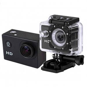 Відеокамера Екшн камера Action Camera D600 з боксом і кріпленнями