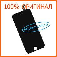 Дисплейный модуль для iPhone 6 Черный Оригинал (LCD экран, тачскрин, стекло в сборе) Black Original