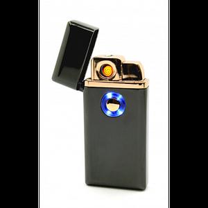 Аккумуляторная электро 2 в 1 спиральная и газовая UKC 5408 USB зажигалка в подарочной коробке