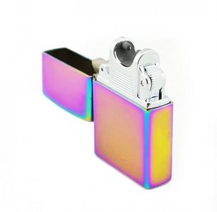 Аккумуляторная электро импульсная USB зажигалка ZIPPO 215 с токовым импульсом в подарочной металлической