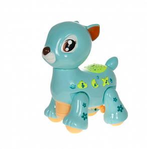 Іграшка Олень Музична D Jin Shaung Lu Блакитна