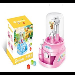 Іграшка Кран ловець кульок цукерок D Jin Shaung Lu Рожевий