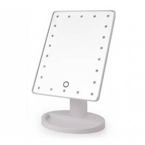 Сенсорное настольное зеркало для макияжа UTM Magic Makeup с LED подсветкой White