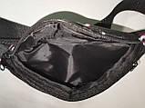 Сумка на пояс Tik Tok Ткань Принт спортивные барсетки сумка только опт, фото 6