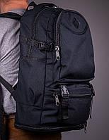 Спортивный городской рюкзак мужской черный