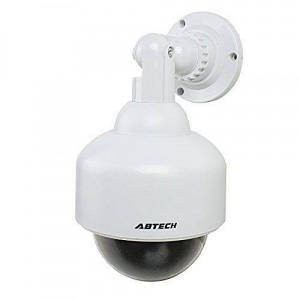 Муляж камери відеоспостереження купольна камера UKC 2000 з підсвічуванням як при запису