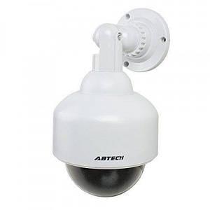 Муляж камеры видеонаблюдения купольная камера UKC 2000 с подсветкой как при записи