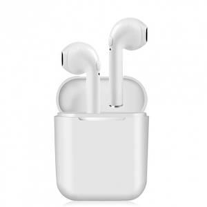 Навушники безпровідні TWS з гарнітурою Pro Stereo Bluetoothе плюс зарядний кейс Білі (i8mini)