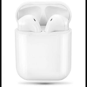 Бездротові навушники iFans PRO Bluetooth в зарядному боксі Білі (iF42)