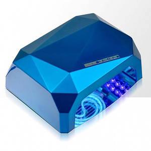 УФ лампа для нарощування нігтів Beauty nail CCF синій (46164)