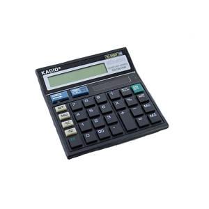 Калькулятор настольный Kadio KD500 черный (45016)